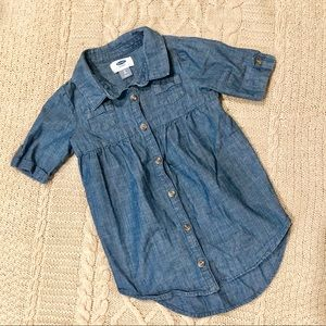 Old Navy Button Down Chambray Dress